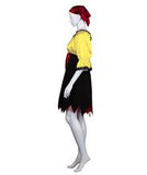 Adult Women's Yellow Sexy Pirate Costume HC-280