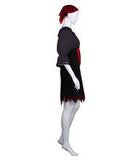 Adult Women's Black Sexy Pirate Costume HC-281