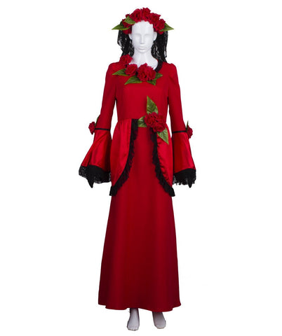 Adult Women's Day of The Dead Bride Costume HC-351