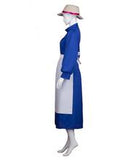 Adult Women's Costume for Cosplay Howl's Moving Castle Sophie Dress HC-354