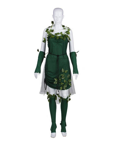 Adult Women's Costume for Cosplay Lethal Beauty poison Ivy HC-362
