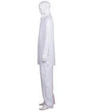 Adult Men's Chinese Traditional Martial Arts Kung Fu White Uniform HC-369