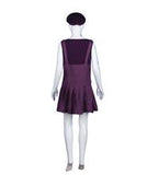 Adult Women's Purple Bad Plumber Costume HC-376