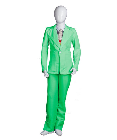 Child's Deluxe Bowie Costume, Light Green HC-378