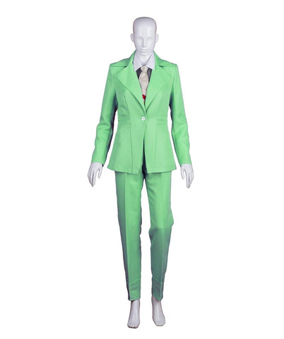 EXCLUSIVE! Women's Deluxe Costume for Cosplay Singer Bowie Lt. Green Party Suit HC-387