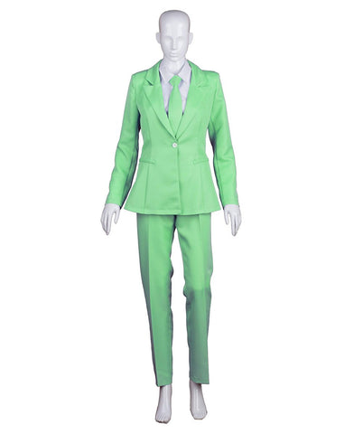 EXCLUSIVE! Women's Deluxe Costume for Cosplay Singer Bowie Lt. Green Party Suit HC-405