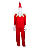 Adult Men's Elf on the Shelf Costume HC-415