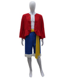 Adult Men's Costume for Cosplay One Piece Monkey D. Luffy HC-430