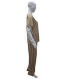 Adult Women's Beige Prisoner Costume HC-461