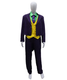 Adult Men's Deluxe Joker Purple Suit Costume  HC-476