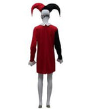 Adult Women's Costume for Cosplay Harley Quinn Diamonds Poker Dress  HC-481