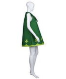 Adult Women's Costume for Cosplay St. Patrick's Day Green Trolls Poppy HC-505