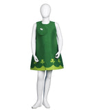 Child Costume for Cosplay St. Patrick's Day Green Trolls Poppy  HC-506