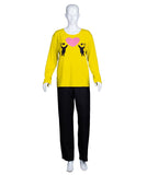 Adult Women's Valentine's Day Falling In Love Yellow Long Sleeve HC-550