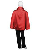 Child Red & Black Vampire Cape HC-741