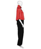 Adult Women's Red & Black Vampire Cape  HC-759