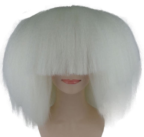SIA STYLE LARGE WHITE KIDS WIG HW-197