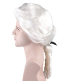 Colonial Man style Adult Size Wig HM-030