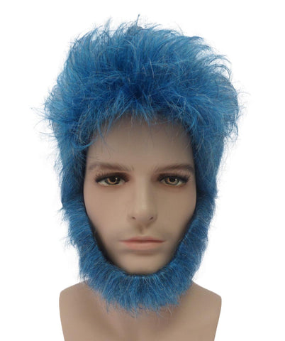 THE BEAST X-MEN APOCALYPSE ADULT SIZE WIG HM-057