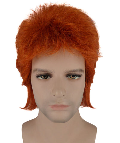 DAVID BOWIE 'ZIGGY STARDUST' COSTUME WIG | HD-1036 - The Hairdrobe
