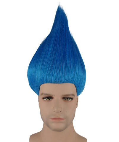 BLUE TROLL WIG KIDS HM-075
