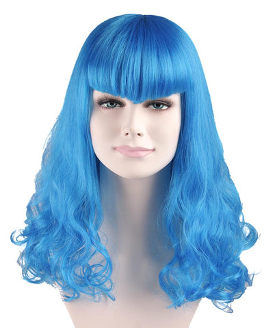 CELEBRITY BLUE WIG ('Katy Perry Style') | HW-032