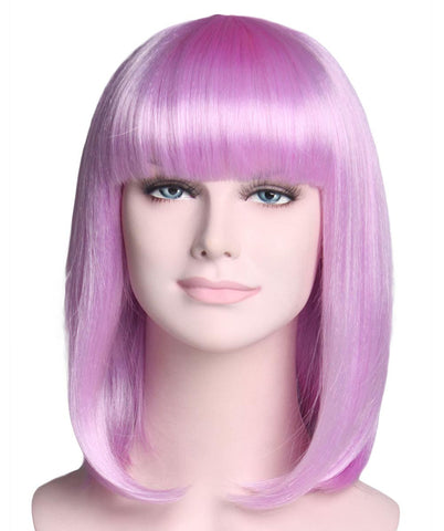 LONG BOB ADULT WIG LIGHT PURPLE  HW-1012
