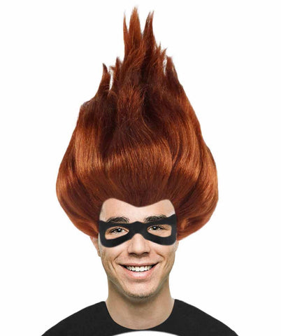 Wig for Cosplay Incredibles 2 Syndrome with Mask Set HM-650