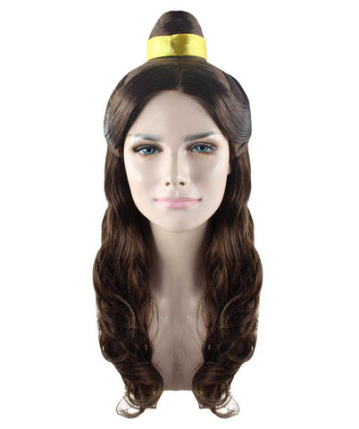 Wig for Cosplay Beauty and The Beast Belle Prestige I HW-1713
