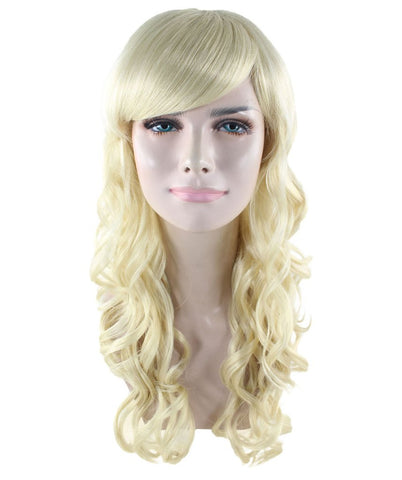 Blonde Long Curly Sexy Wig HW-1737