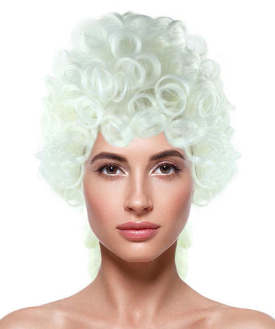 White Colonial Women's Wig HW-2168