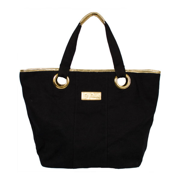 Pia Rossini Hampton Bag, black Tote bag