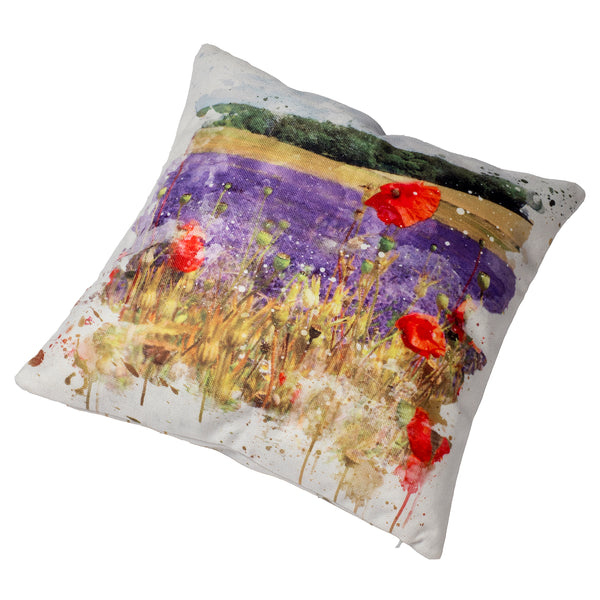 Cushion & Cushion Cover Lavender Field