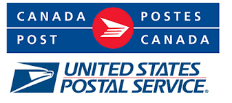 Canada Post and USPS logo together