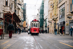 trolley car in Europe