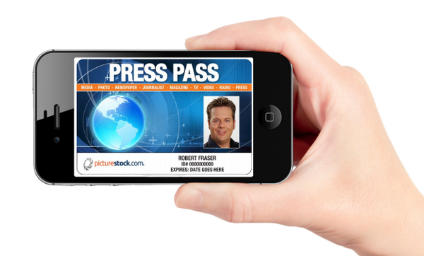 press pass on cell phone