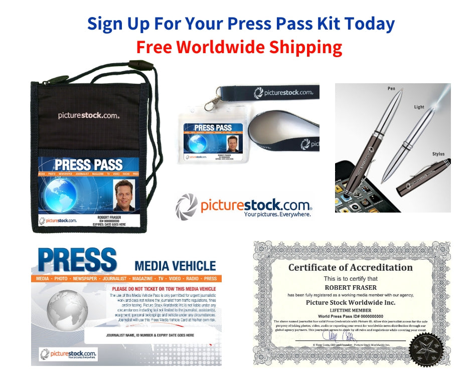 press pass kit