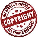 copyright all rights reserved seal