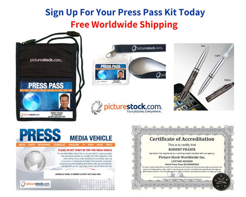 2 Year Press Pass Kit - Only $99 + Free Shipping Worldwide