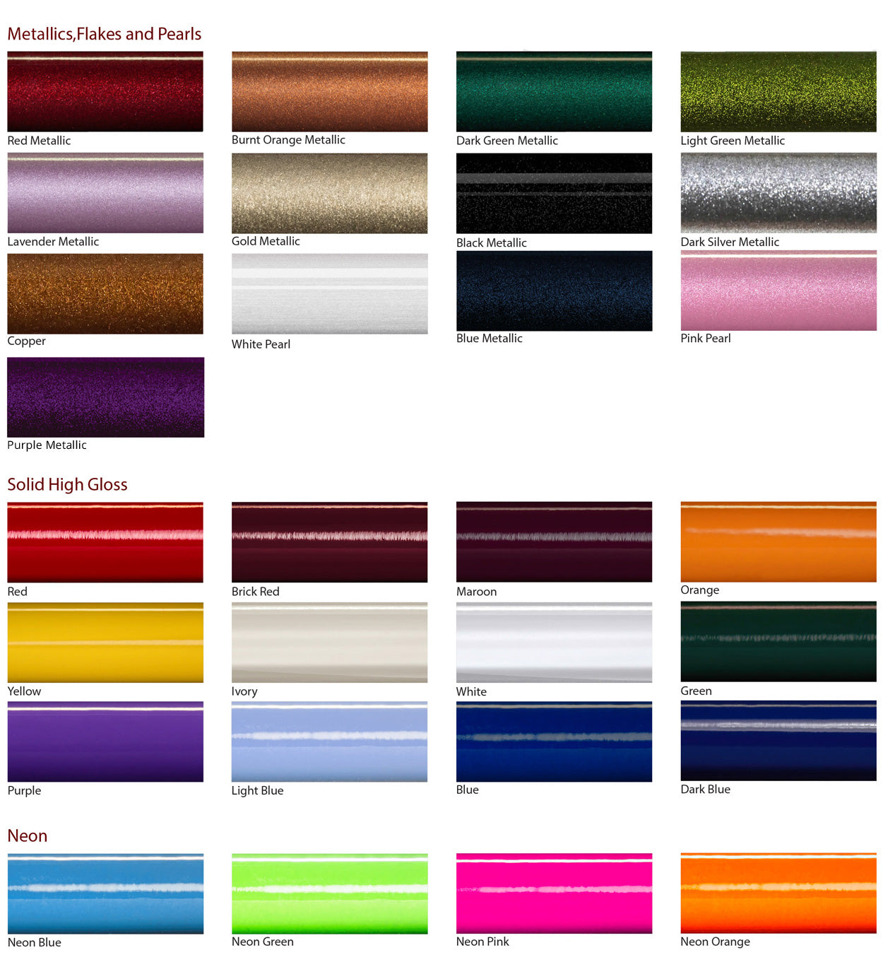 Custom color blanks by rodgeeks rodgeeks color options nvjuhfo Image collections