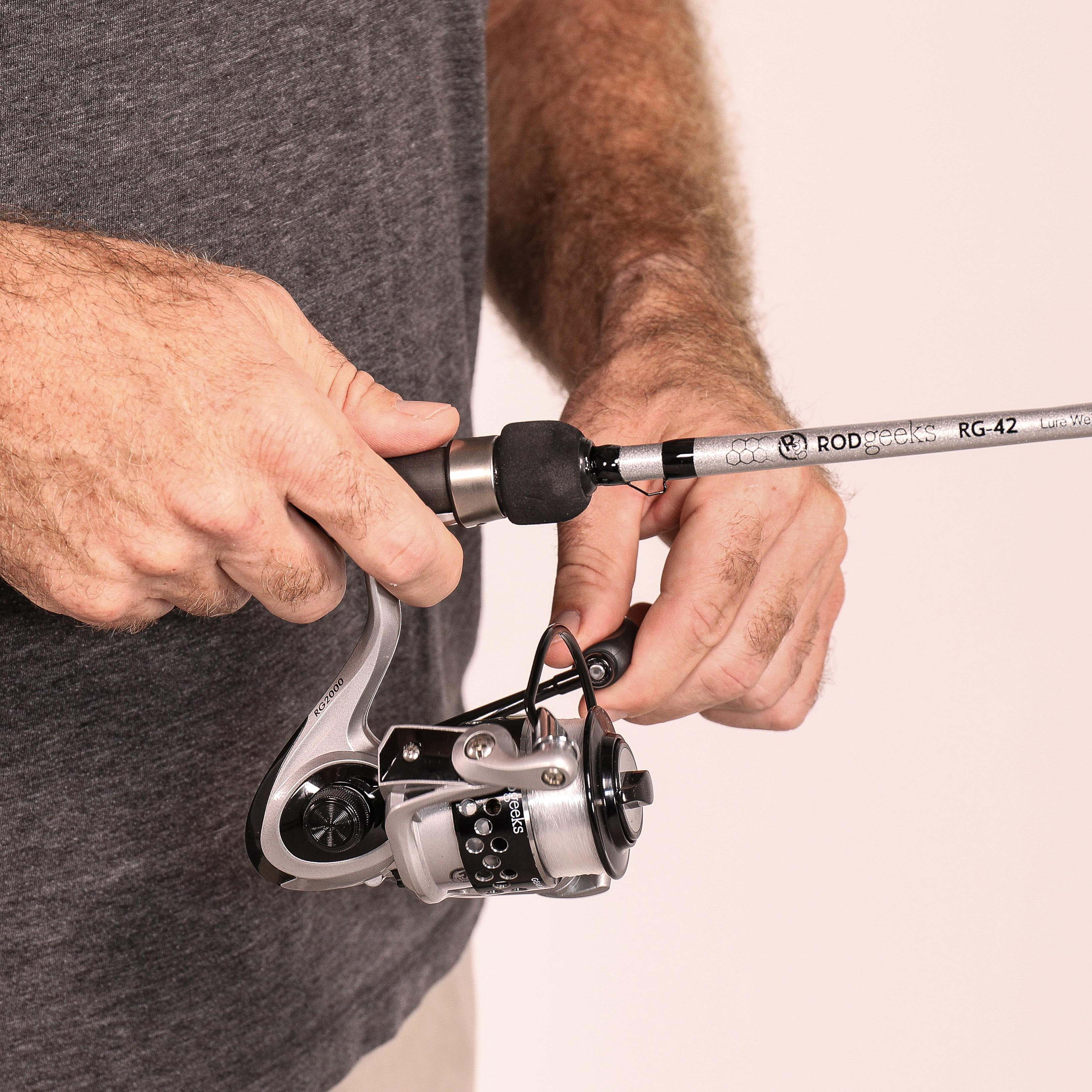 Close up of RG42 Spinning Reel