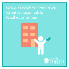 Creates sustainable local economies