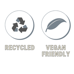 vegan friendly recycled bag