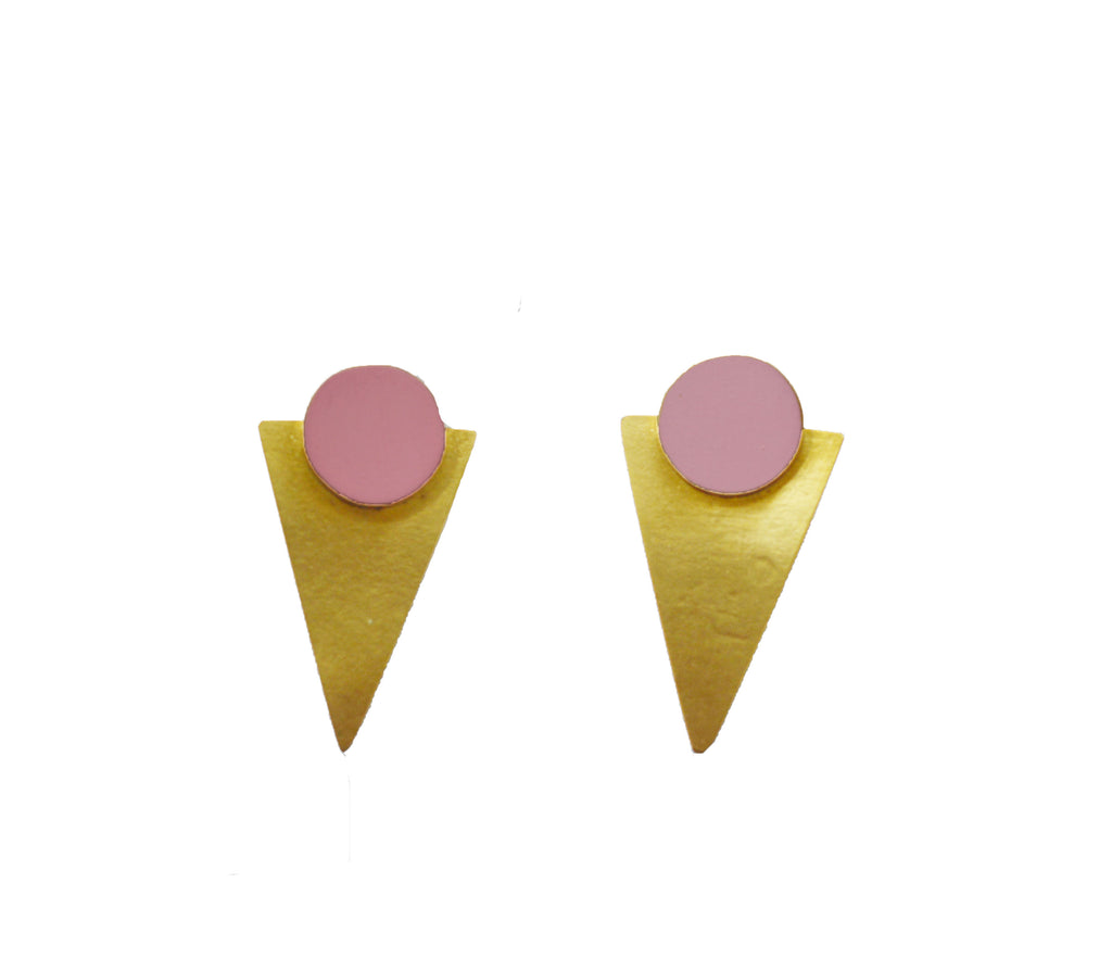 Coloured Statement Studs