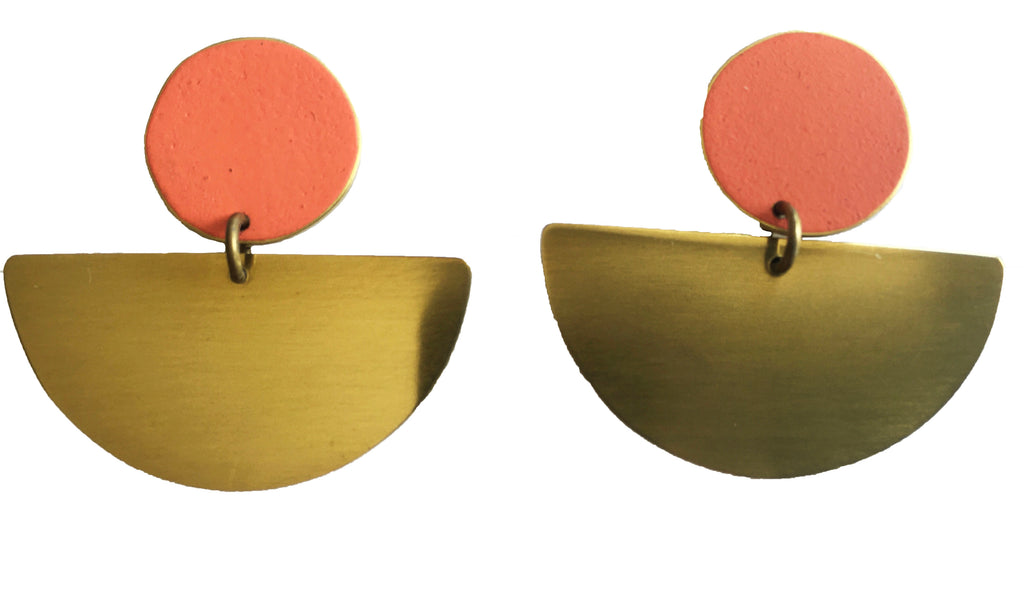 LIS Exclusive Coloured Statement Earrings