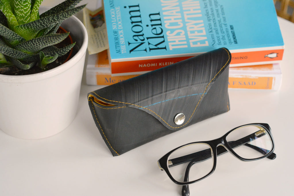 Upcycled Tyre Glasses Case