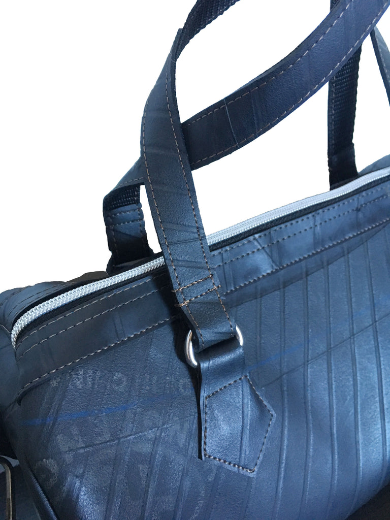Mercury Boston Bag-Recycled Tyre