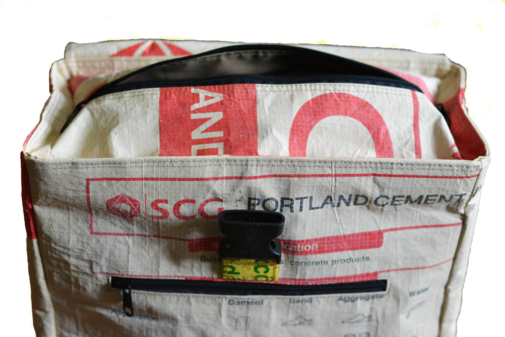Recycled Bicycle Pannier Bag