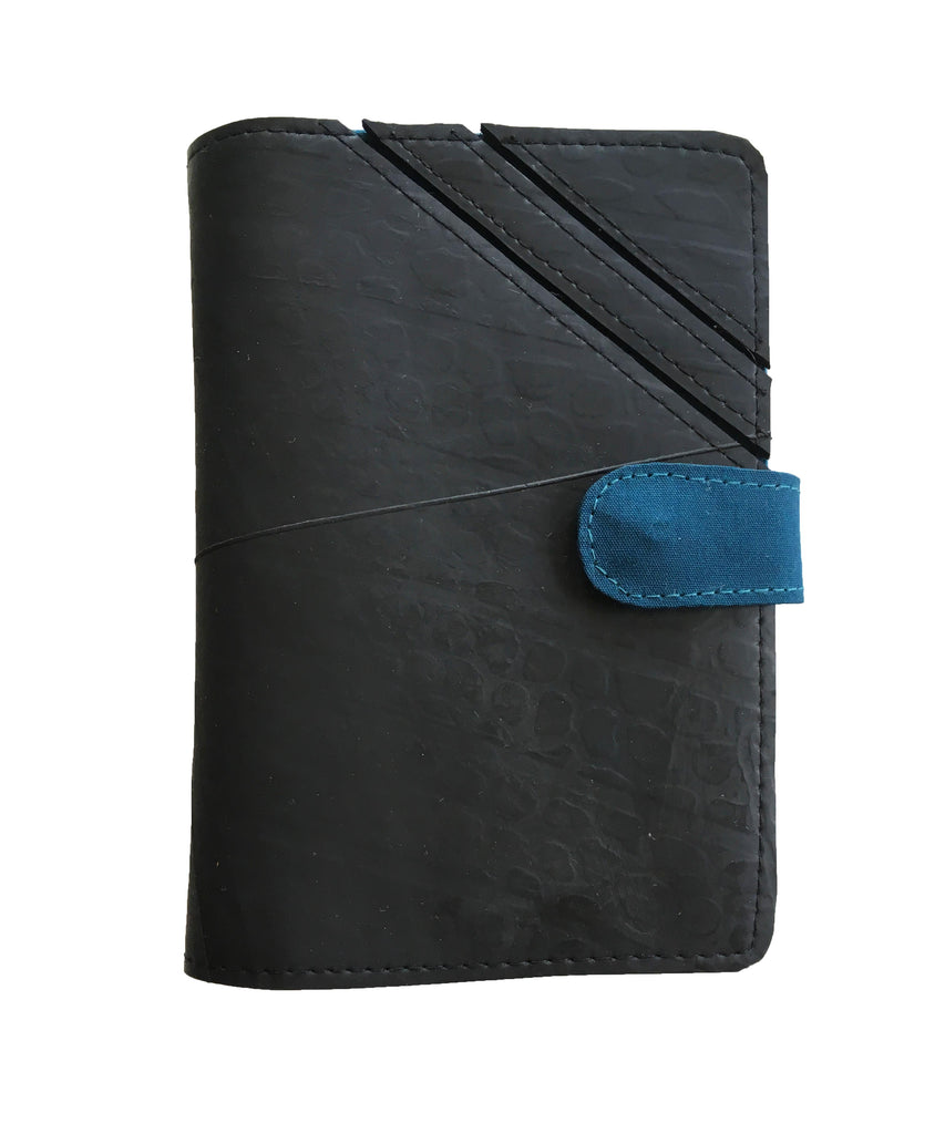 Upcycled from Inner Tube Passport Holder