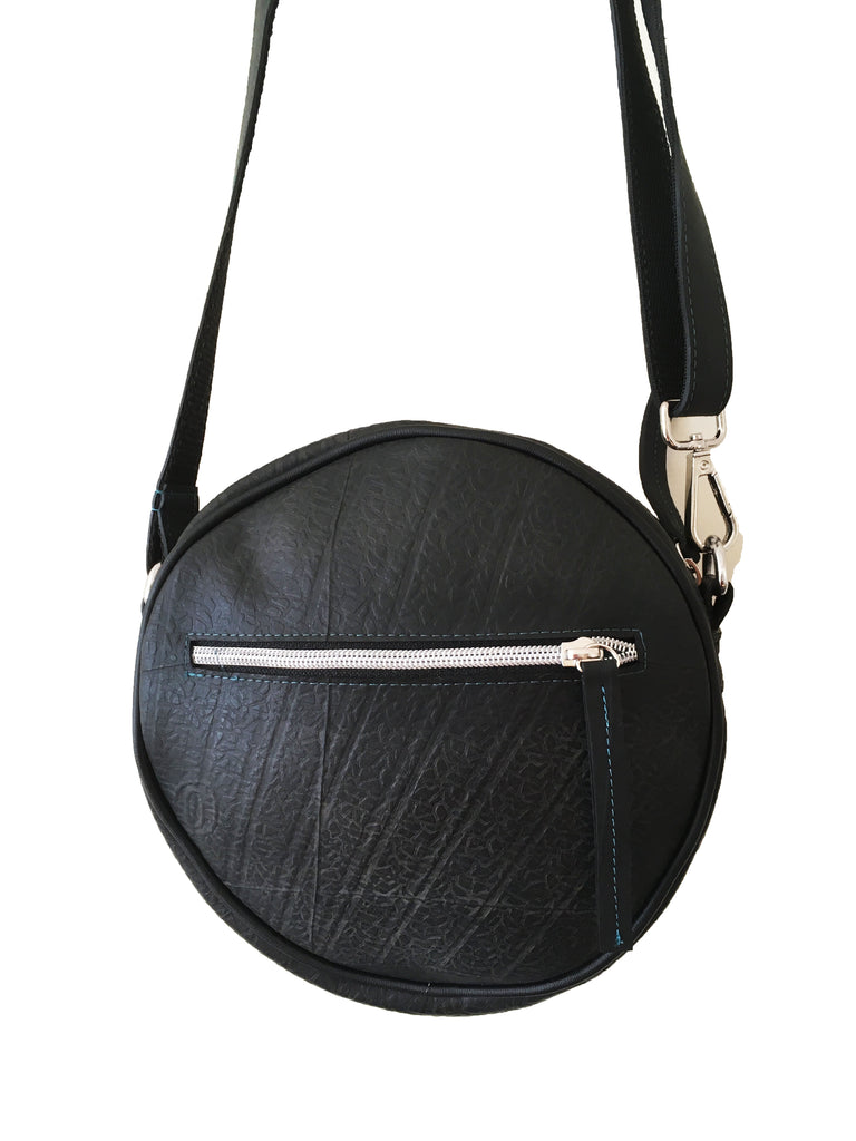 Sirius Round Bag-Recycled Tyre